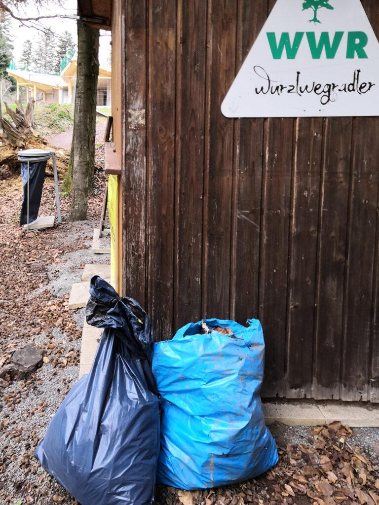 Müll am Wurzleck